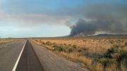 Another fire just outside of Arco, Idaho.