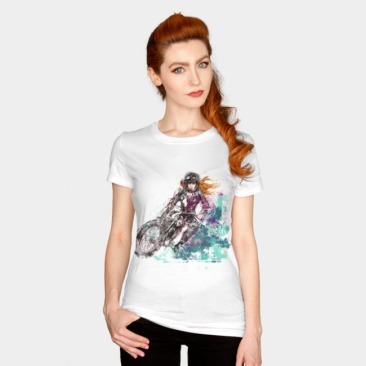 Adrenaline Woman Fitted tee 2