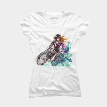 Adrenaline Woman Fitted Tee
