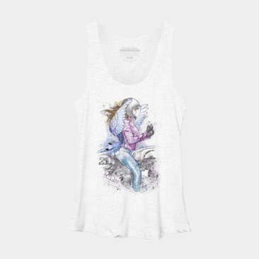 Flapping Wings Racerback Tank