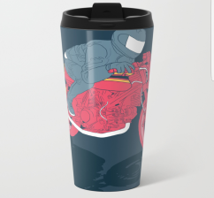 flat metal travel mug 2