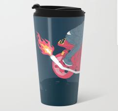 flat metal travel mug 3