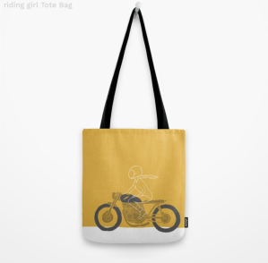 Riding Girl Tote