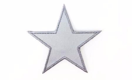 Star Reflective Patch